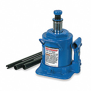 "6-3/4"" x 6-5/8"" Telescoping   Bottle Jack with 10 tons Lifting Capacity"
