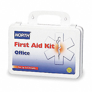 First Aid Kit,Bulk,White,140 Pcs,8 Ppl