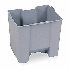 Optional Rigid Liner,15 gal,Gray
