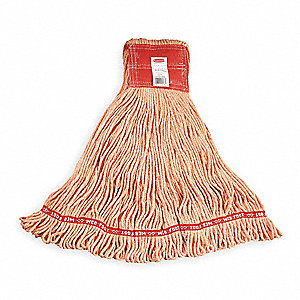 Side Gate Synthetic String Mop Head, Orange