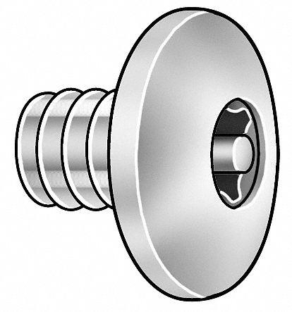 Binding Screw PK5 316 SS 6-32