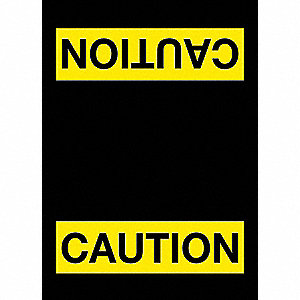 Safety Logo Entrance Mat,Black,4ft.x6ft.