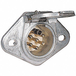 Trailer Connector Socket,12-24V