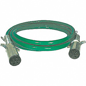 ABS Power Cord,10A,15 ft.,Green