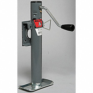 Trailer Jack,2000 Lb,Weld On