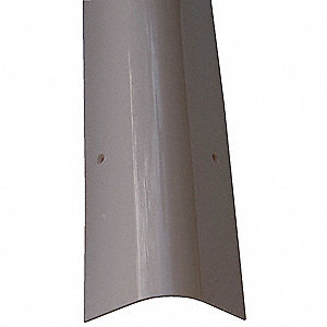 Corner Guard,OAH48In,Gray,Rounded Angle