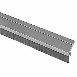 Door Frame Weatherstrip,3 ft,Gray