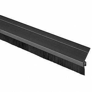DOOR FRAME WEATHERSTRIP,BLACK,84 IN