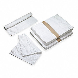 "Envision® 1-Ply Single Fold Paper Towel Sheets, 13"" x 13"", White, 5PK"