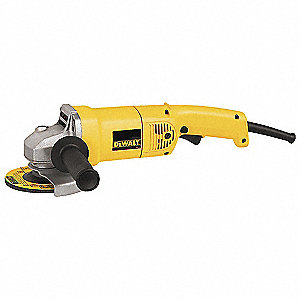 "12-Amp Trigger-Switch Angle Grinder with 5"" Wheel Dia."