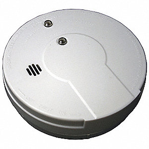 "5"" Smoke Alarm with 85dB @ 10 ft., Horn Audible Alert&#x3b; 9V"
