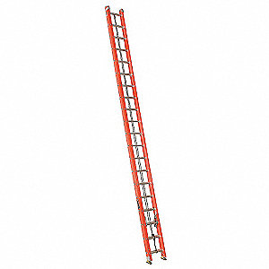 Extension Ladder, Fiberglass, IA ANSI Type, 6 ft. Ladder Height