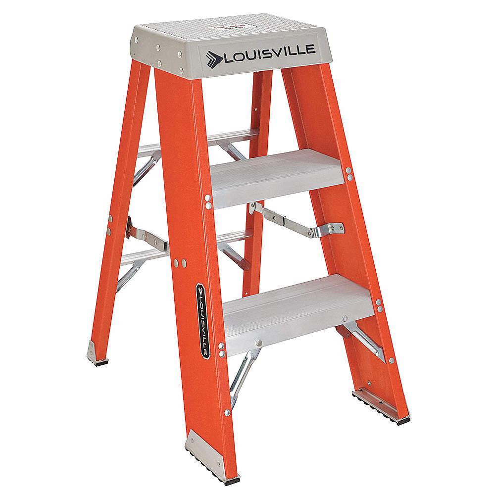 Cool Louisville Fiberglass Step Stand 36 Overall Height 300 Lb Creativecarmelina Interior Chair Design Creativecarmelinacom