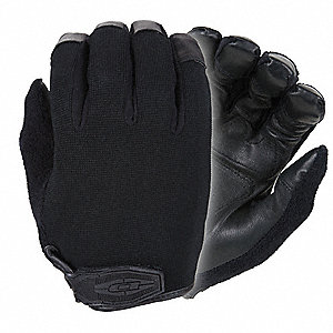 Law Enforcement Glove,L,Black,PR