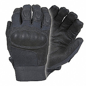Tactical/Military Glove,L,Black,PR