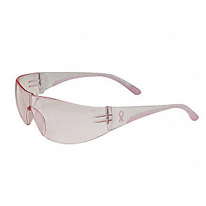 Safety Glasses,Pink,Scratch-Resistant