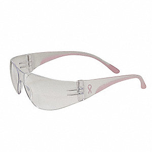 Eva Petite Scratch-Resistant Safety Glasses, Clear Lens Color
