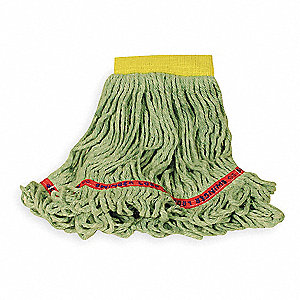 Rayon/Polyester/Cotton Wet Mop, 1 EA