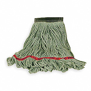 Side Gate Synthetic String Mop Head, Green