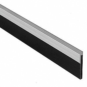 WEATHERSTRIP,CLOSED CELL,ALUMINUM,8