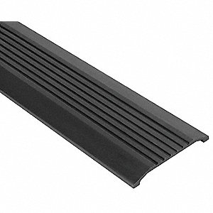 "6 ft. x 4"" x 1/2"" Fluted Top Saddle Threshold, Brown"