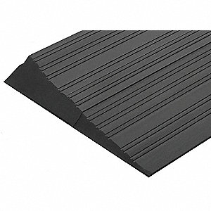 ADA Ramp,Rubber, 6 x 72 In