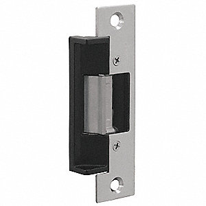 Medium Duty Electric Strike with 1000 lb. Pull Force and 630 Satin Stainless Steel Finish