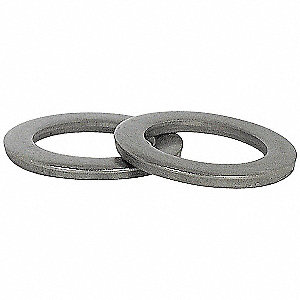 "1""x1-1/2"" O.D., Machinery Bushing Washer, Steel, Low Carbon, Plain, PK25"