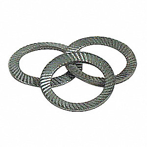 Ribbed Lock Washer,M16,Spring Stl,PK25