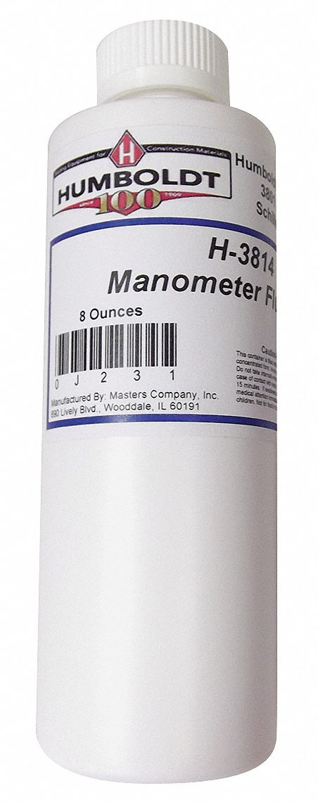 Manometer Fluid, 8oz (240ml)