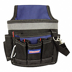ELECTRICIANS TOOL POUCH,6 PKT