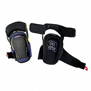Knee Pads,Hinged,Gel,EVA Foam,Univ,PR