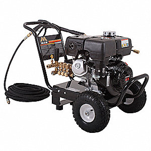 Light to Medium Pressure Washer, Cold Water Type, 3400 psi, 3.0 gpm