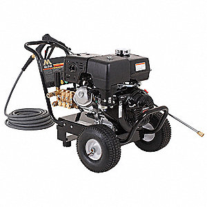 Light to Medium Pressure Washer, Cold Water Type, 4000 psi, 3.5 gpm