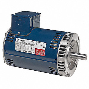Motor,1HP,11-15/16in.L,Keyed