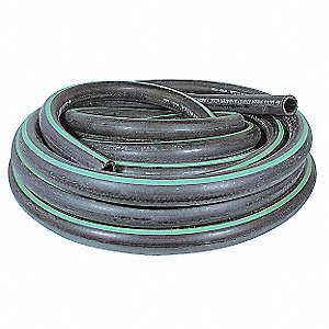 "50 Ft. Green Stripe II Heater Hose with 3/4"" Inside Dia., Black/Green"