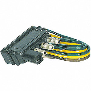 Flat Electric Connector,4-way,PK6