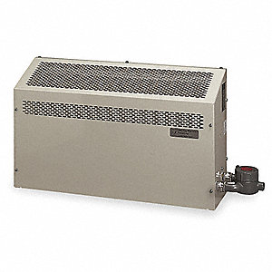 Hazardous Location Wall Heater, Convection, Voltage 208, Amps AC 9, 1 Phase, BtuH 6140
