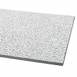 "Ceiling Tile,24"" W,48"" L,5/8"" Thick,PK12"