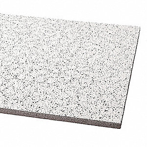 "Ceiling Tile,24"" W,24"" L,5/8"" Thick,PK16"