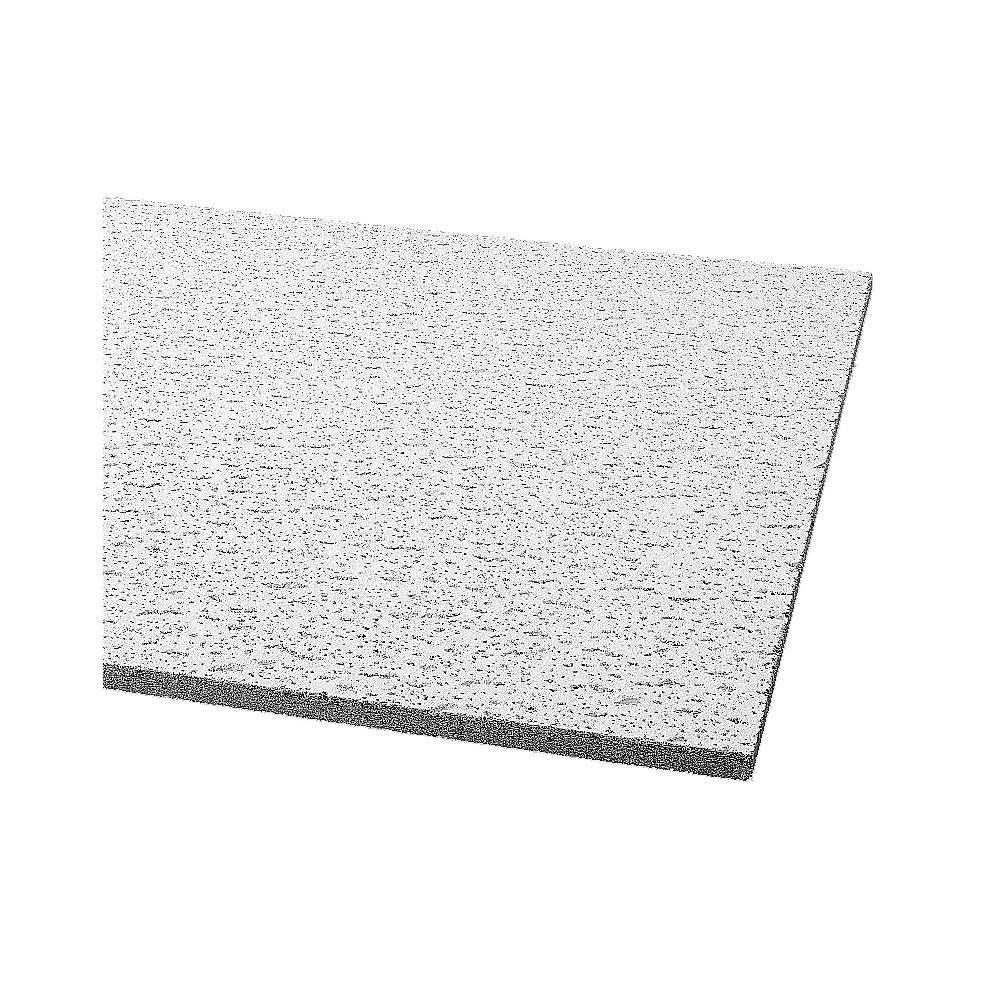 Ceiling Tile Width 24 Length 24 5 8 Thickness Mineral Fiber Pk 16