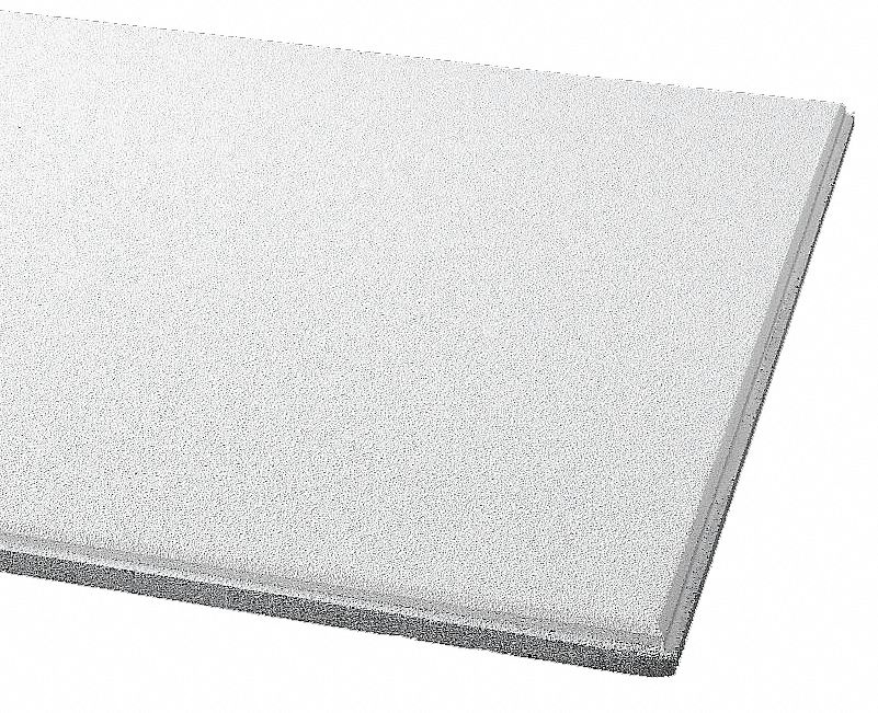 """ARMSTRONG Ceiling Tile 24"""" W 24"""" L 3 4"""" Thick PK12 5NGK1 1911"""