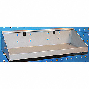 Steel Parts Toolboard Shelf, Silver