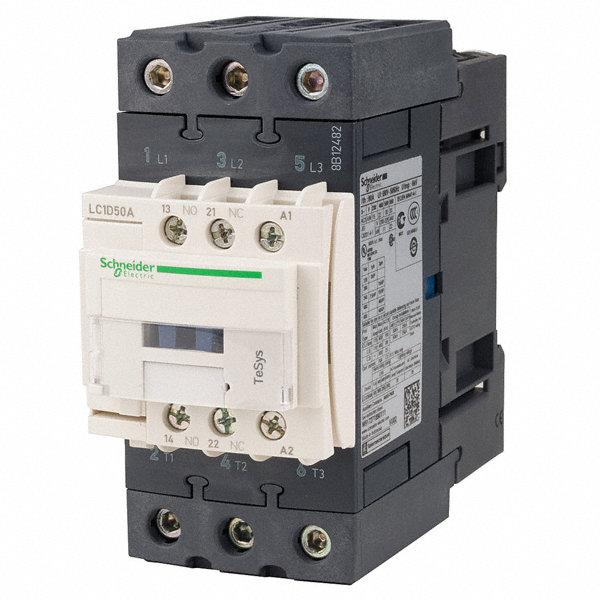 Schneider Electric 24vac Iec Magnetic Contactor No Of