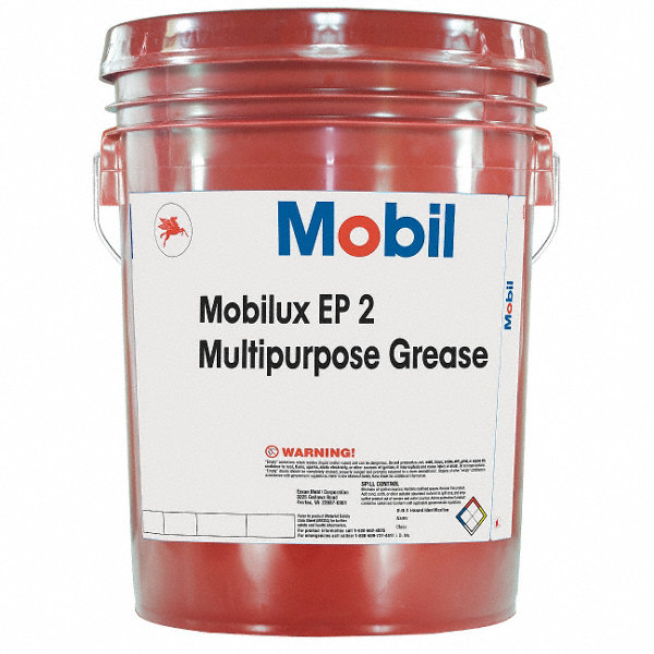Mobil Mobilux 174 Ep 2 Tan Lithium Extreme Pressure Grease 5