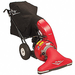 Outdoor Litter Vacuum, Drive Type: Push, Bag Volume: 9 cu. ft., Cleaning Path: 30""