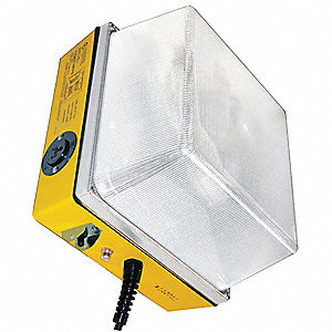 PORTABLE WORK LIGHT ,MH,100W,YELLO