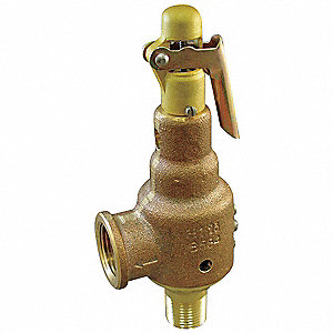 Safety Relief Valve,1-1/2 x 2 In,200 psi