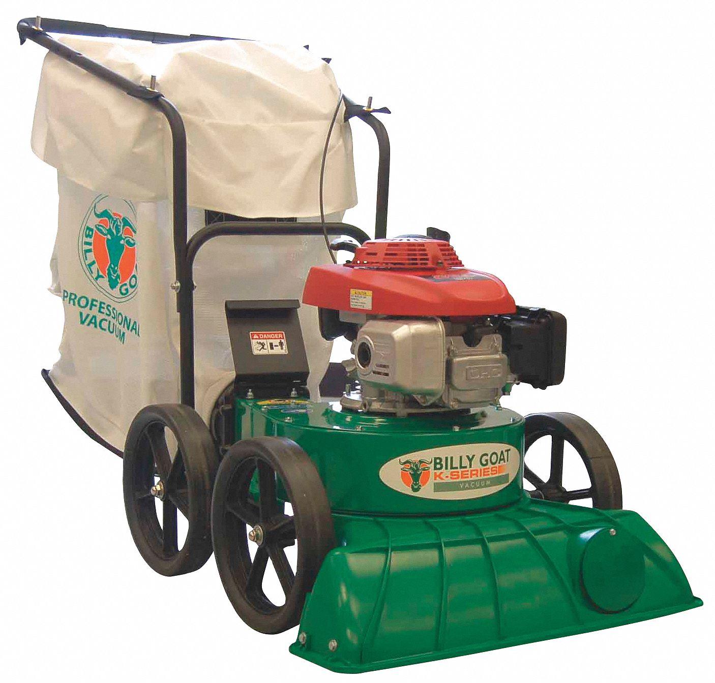 Billy Goat Outdoor Litter Vacuum Drive Type Push Bag Volume 40 Gal Cleaning Path 27 5nlg6 Kv650h Grainger