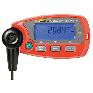 RTD Thermometer,-58 to 320F,Digital
